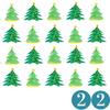 Tannenbäume mit Ziffer 22