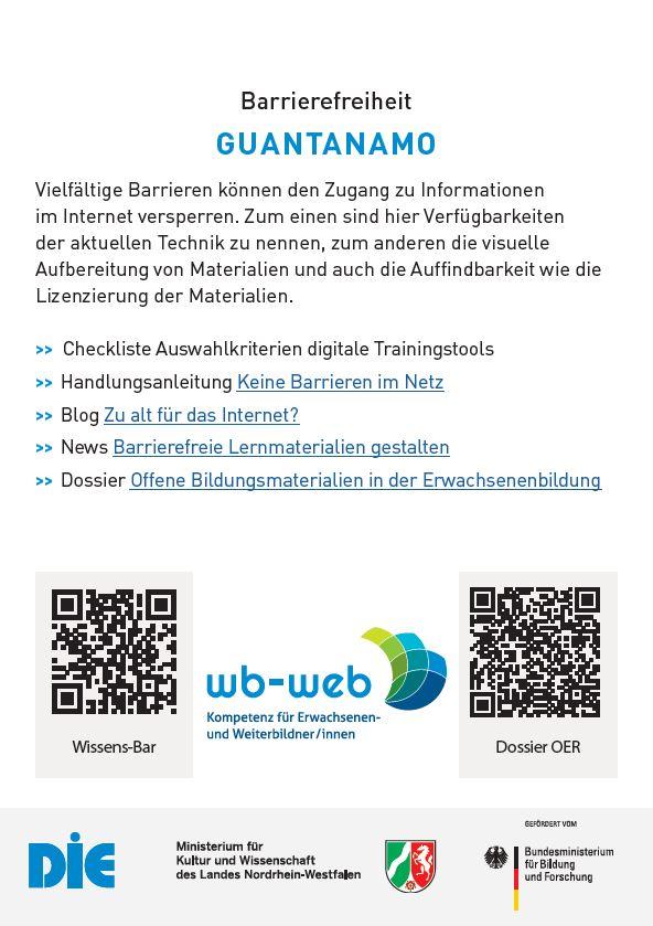 """Das Bild zeigt eine Vorschlagsliste zu wb-web-Inhalten mit dem Thema """"Barrierefreiheit""""."""