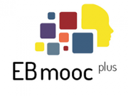 Das Bild zeigt das Logo des EBmooc plus