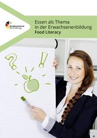 Cover der Broschüre Essen als Thema der Erwachsenenbildung