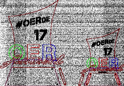 Das Bild zeigt die Verktorgrafik des OER-Awards 2017.