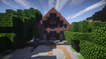 Das Bild zeigt einen Ausschnitt aus dem Spiel Minecraft.