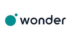 Das Bild zeigt das Logo von wonder.me