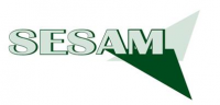 """Das Logo des Projekts """"Strategien zur Weiterentwicklung der Beratungsangebote in NRW für arbeitsplatzorientierte Grundbildung - ein Beitrag zur Stärkung von Beschäftigten und Unternehmen, kurz: SESAM."""