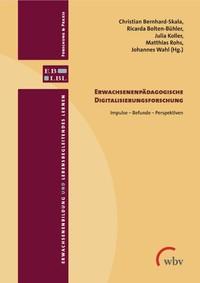 Cover Band Erwachsenenpädagogische Digitalisierungsforschung