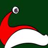Nikolausmütze mit Ziffer 6