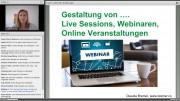 Screenshot Webinare Gestalten e-teaching.org