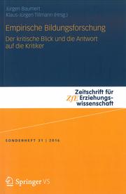 Das Bild zeigt das Cover des Sonderhefts der ZFE.