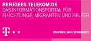 Das Logo des Informationsportals für Flüchtlinge, Migranten und Helfer