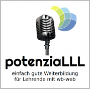 Logo potenziaLLL Podcast