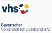 Bearbeitetes Logo des Bayerischen Volkshochschulverbandes