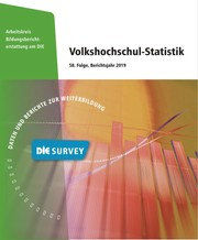 Cover der Volkshochschul-Statistik