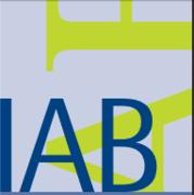 Das Bild zeigt das Logo des Kurzberichts IAB.