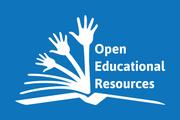 Das Bild zeigt ein Logo zu offenen Bildungsmaterialien.