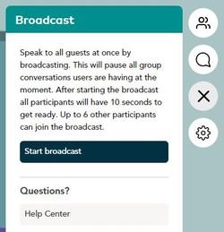 Das Bild zeigt einen Screenshot der Webanwendung wonder.me.