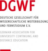 Logo der Deutschen Gesellschaft für wissenschaftliche Weiterbildung und Fernstudium e.V.