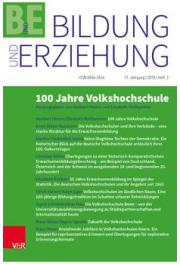 Cover Bildung und Erziehung Heft 2/2018