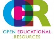 Das Bild zeigt das Logo von OER mit dem ausgeschriebenen Text open educational resources darunter.