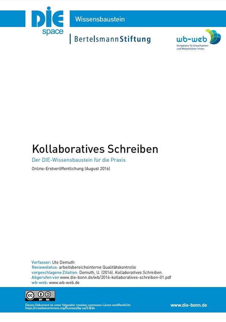 Download Wissensbaustein Kollaboratives Schreiben