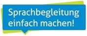 """Das Bild zeigt das Logo des Projekts """"Sprachbegleitung einfach machen!""""."""