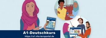 Einstiegsseite zum A1-Deutschkurs