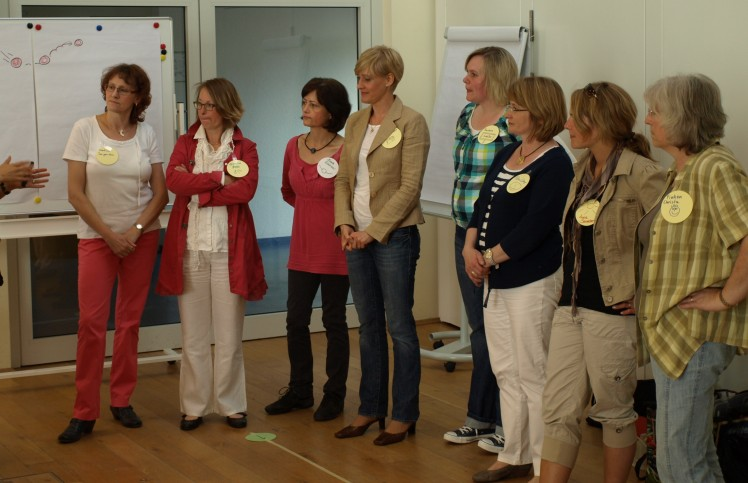 Gruppe im Seminar