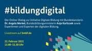 Initiative Digitale Bildung lädt zum Online-Dialog