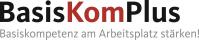 Das Bild zeigt das Logo des Projekts BasisKomPlus