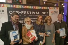 Preisträger Erwachsenenbildung OER-Award 2017