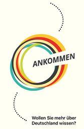 Logo der APP ANKOMMEN