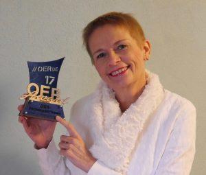 Hedwig Seipel mit OER-Nominierungsaward