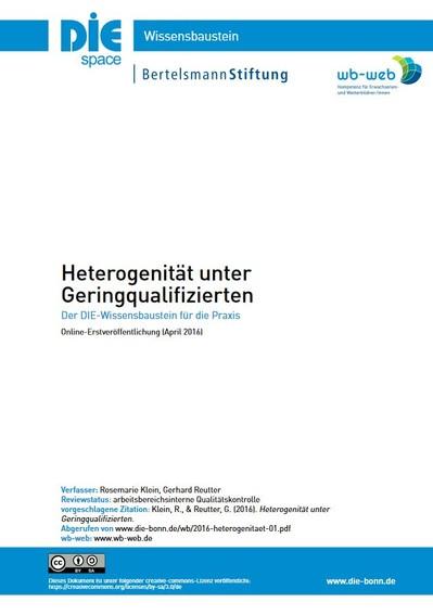 Download des Wissensbausteins Heterogenität