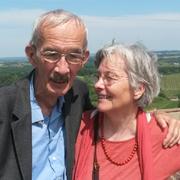 Das Bild zeigt das Ehepaar Engelbert und Gwendolyn Fischer.