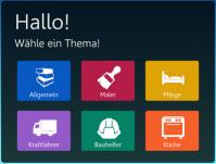 Ausschnitt aus einem Screenshot, der die Lernsoftware Beluga zeigt.