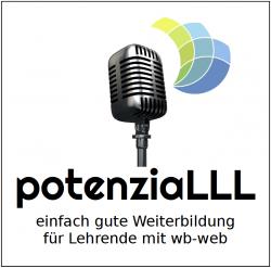 potenziaLLL Logo des Podcast von wb-web