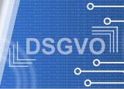 """Die Grafik zeigt das Wort """"DSGVO""""."""