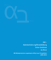 Das Cover der Alphabroschüre