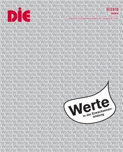 """Cover der DIE Zeitschrift """"Werte"""""""