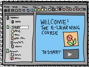 E-Learning Startbild des Dossiers