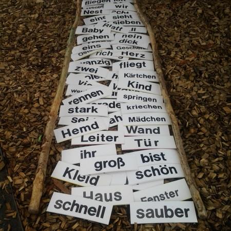 """Das Bild """"Wortweg"""" von Karin Ullrich"""