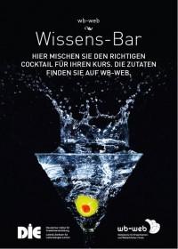 Poster zur Wissens-Bar