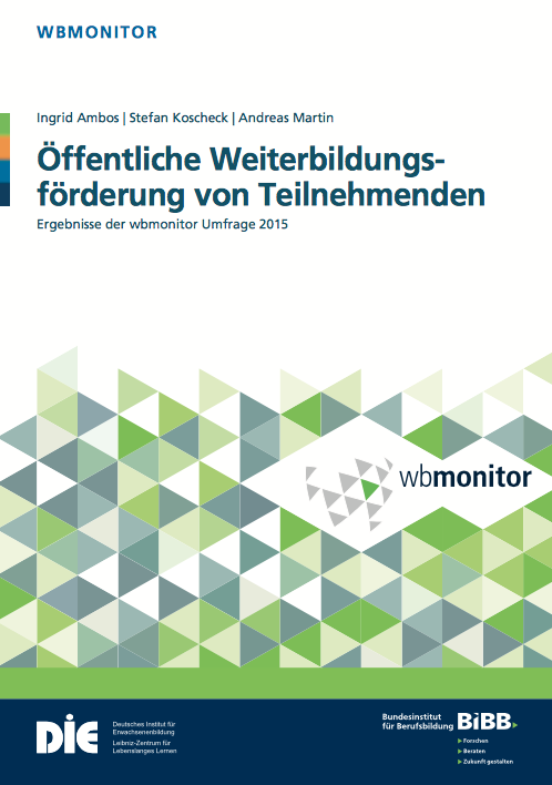 Titelbild des wbmonitor 2015