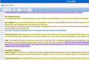 Screenshot einer Etherpad-Seite mit Einträgen
