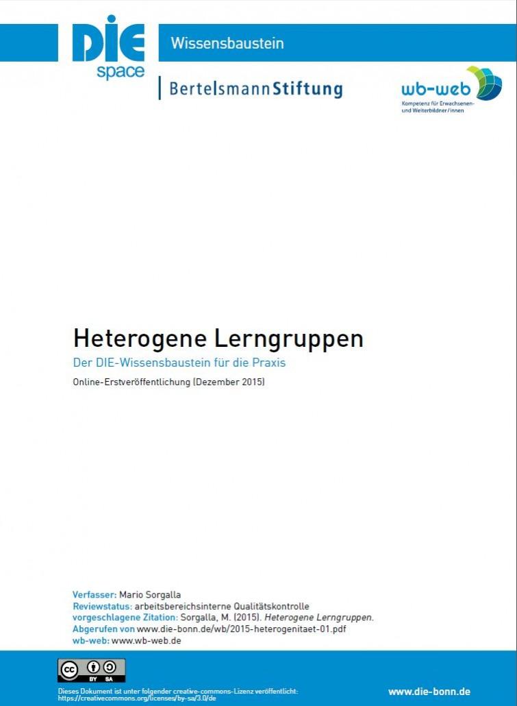 Download des Wissensbausteins Heterogene Lerngrupen