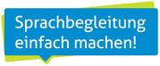 """Logo """"Sprachbegleitung einfach machen"""""""