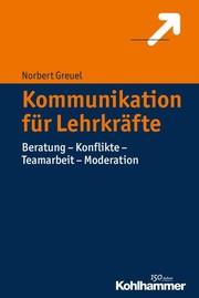 Cover Kommunikation für Lehrkräfte