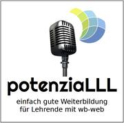 Logo podcast potenziaLLL
