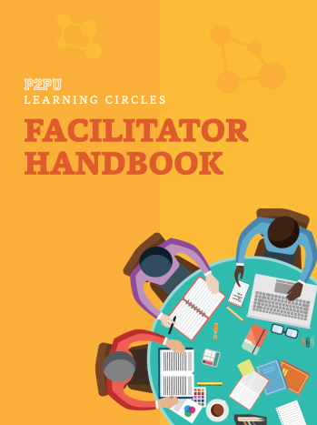 Cover des Facilitator Handbook für Learning Circles