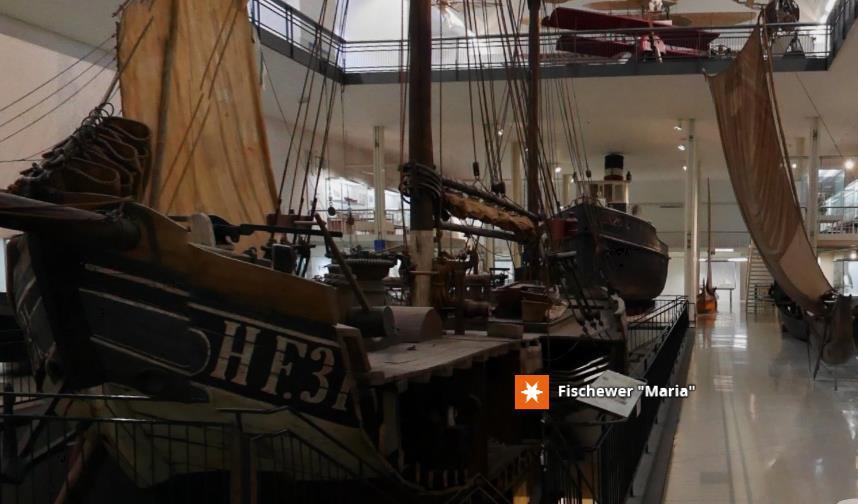 Das Bild zeigt die Einstiegsseite des virtuellen Auftritts des Deutschen Museums.