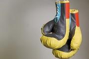 Ein Paar Boxhandschuhe